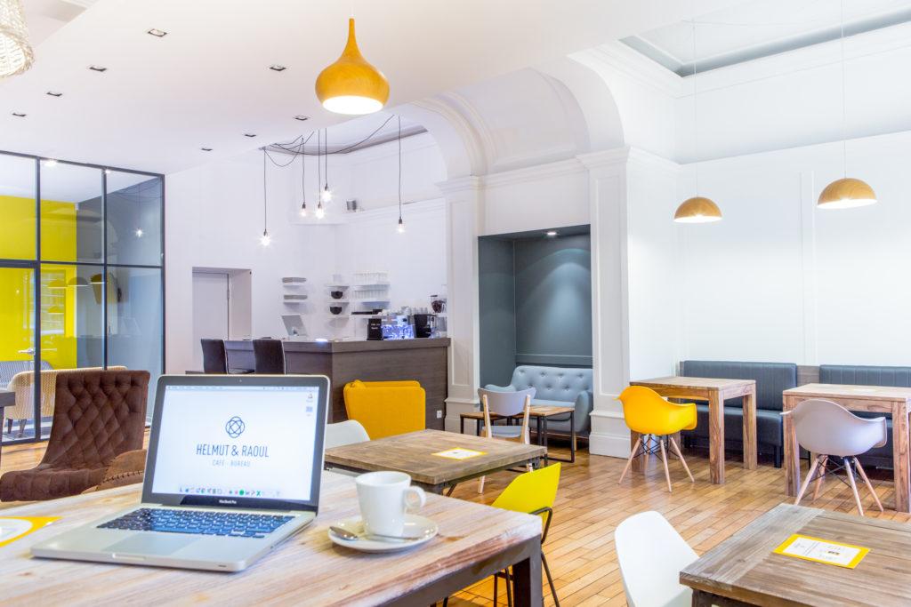 HELMUT & RAOUL, CAFÉ BUREAU À LILLE